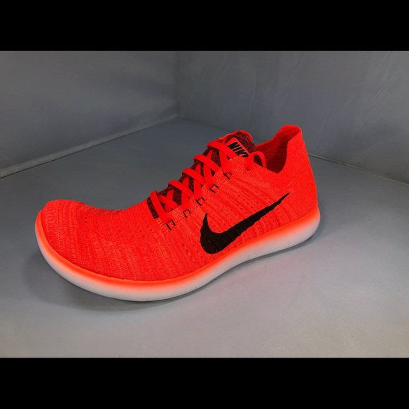 temperatura Independientemente Borrar  Nike Shoes | New Nike Free Rn Flyknit Running Shoes Bright Red | Poshmark